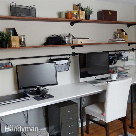 Office Desk Organization 8 Home Office Desk Organization Ideas You Can Diy The Family Handyman