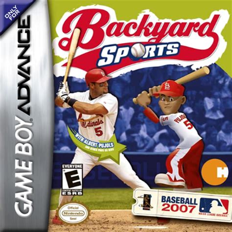 backyard sports baseball play backyard sports baseball 2007 nintendo game boy