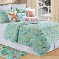 Nautical Bedspreads Or Comforter Sets Hawaiian Coastal Beach And Tropical Bedding Oceanstyles