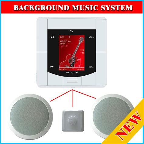 Home Ceiling Speaker System by Background System 2 Ceiling Speaker Usb Ci Card For