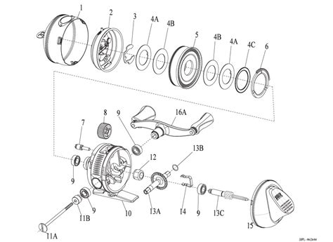 fishing reel parts diagram spinning reel schematics spinning get free image about