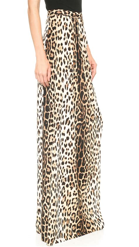 Maxi Leopard moschino cheap and chic leopard maxi skirt leopard in