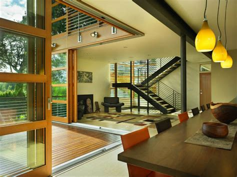 glass wall house designs glass wall house design leschi residence in seattle modern houses