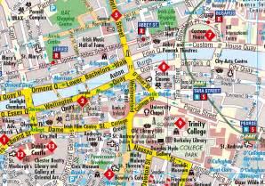 map of dublin dublin berndtson map