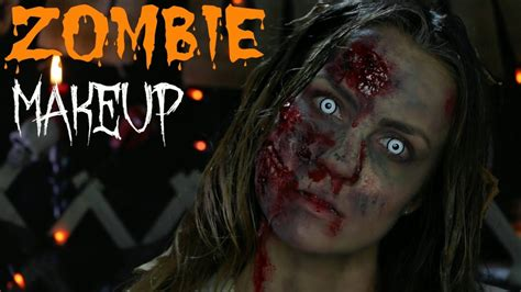 zombie yourself tutorial video walking dead zombie quot walker quot makeup tutorial