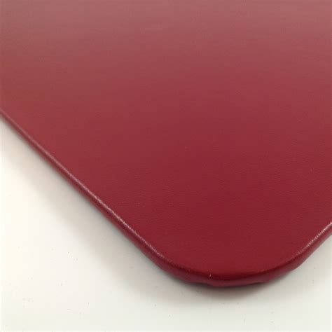 red office desk accessories red glazed leather desk pad glossy genuine leather mat