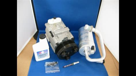 96 04 ford mustang gt 4 6 ac compressor kit air conditioning aftermarket part