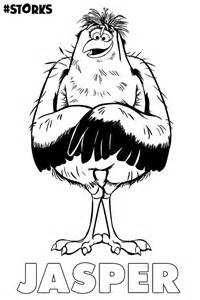 storks movie coloring pages az coloring pages
