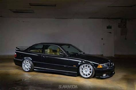 Coupe Stylé by Black Bmw E36 Coupe On Oem Bmw Styling 39 Wheels Bmw E36