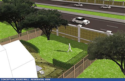 how to reduce highway noise in backyard noise over mopac neighbors object to sound wall news