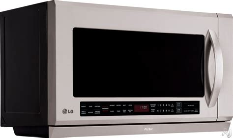 the stove microwave with exhaust fan lg lmhm2017st 2 0 cu ft the range microwave with