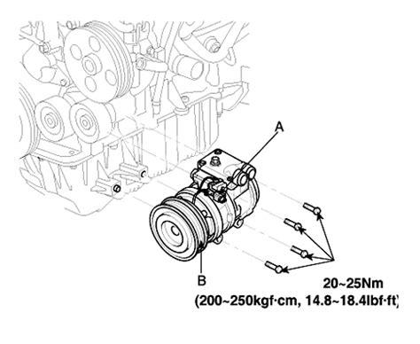 repair guides compressor removal installation