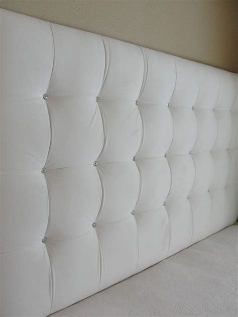 White Tufted Headboard White Velvet Square Tufted Upholstered Headboard Wall Mounted The Tufted Frog
