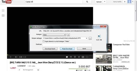 cara upload video di youtube kualitas hd cara download video ber extensi webm di youtube