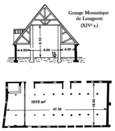 plan grange histoire de la grange d 238 meresse de longpont