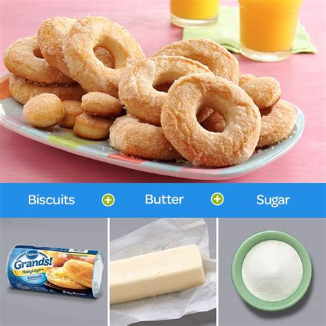 how to make doughnuts at home with only 3 ingredients from
