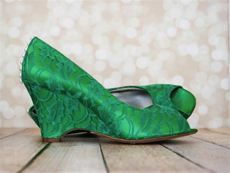 Wedding Green Shoes by Green With Envy How To Make Them Jealous With Green