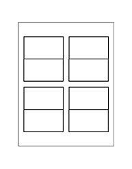 Tent Card Template 4 Per Sheet by Free Avery 174 Templates Small Tent Card 4 Per Sheet