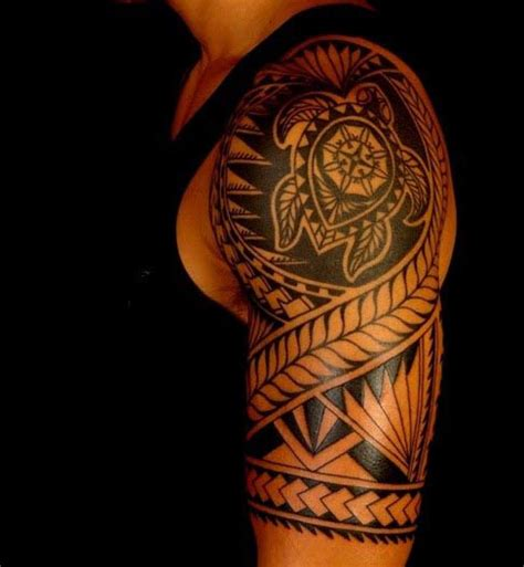 turtle tattoo for men top 60 best tribal tattoos for symbols of courage