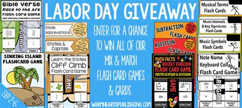 Labor Day Giveaway - labor day giveaway warm hearts publishing