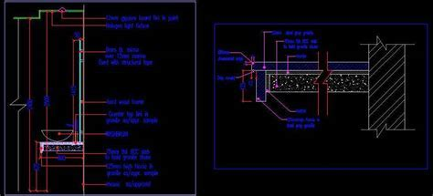 Wash basin counter section   Autocad DWG File   Plan n Design