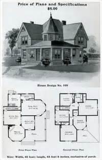 classic farmhouse floor plans 1903 free classic queen anne william radford plans