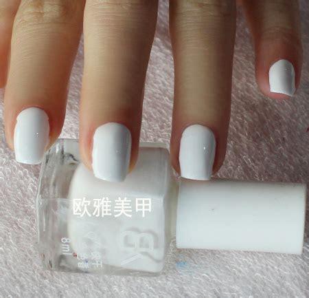 imagenes de uñas pintadas de blanco u 241 as pintadas de blanco