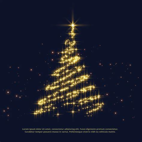 shiny sparkles creative christmas tree design   vector art stock graphics images