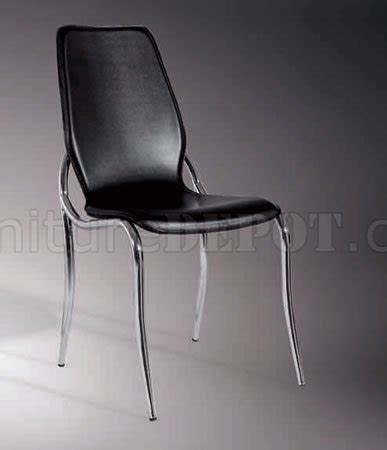 leather match upholstery set of 4 dining chairs with black leather match upholstery