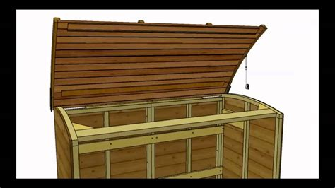 canterbury wood storage bin youtube