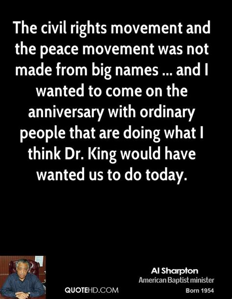 the movement makes us human an with dr vincent harding on mennonites and mlk books al sharpton quotes quotehd