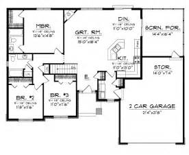 House Plans Open Concept by Open Concept Ranch Floor Plans Quotes