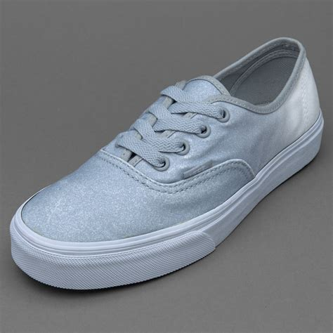 Sepatu Vans Authentic sepatu sneakers vans womens authentic 2 tone glitter white