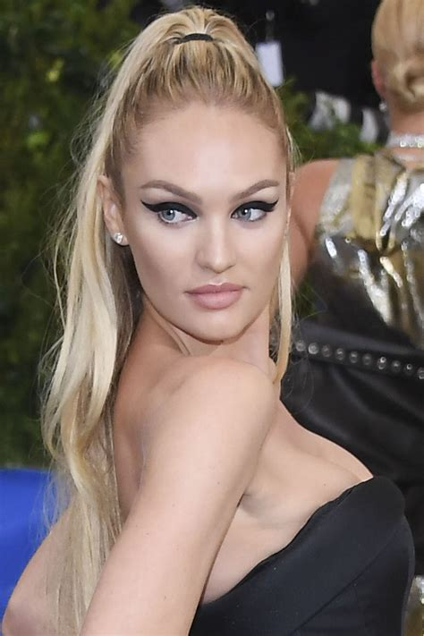 Hottest Ponytail Hairstyles From Celebrities Trendy Hairstyles 2017 | the 21 best hair and makeup looks from the 2017 met gala