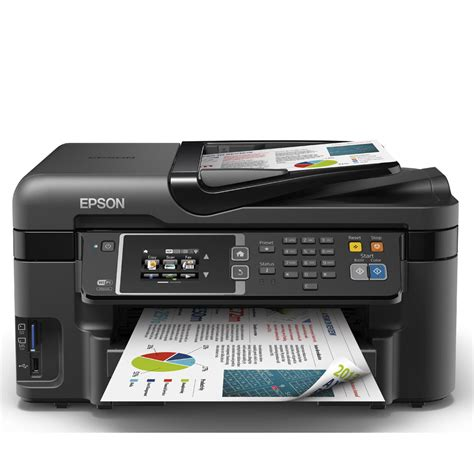 Printer Epson Wf epson workforce wf 3620dwf a4 colour multifunction inkjet