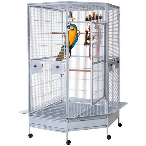 parrot cages for sale used small corner