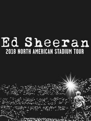 ed sheeran us tour 2018 ed sheeran the warfield san francisco ca tickets