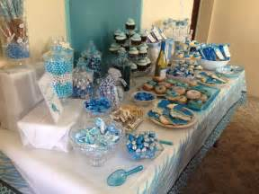 candy table for boy baby shower baby shower ideas