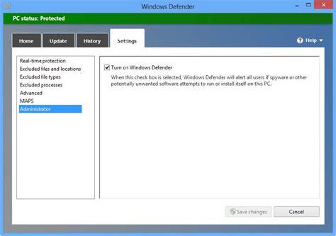 windows 8 defender turn on how to turn off defender in windows 8