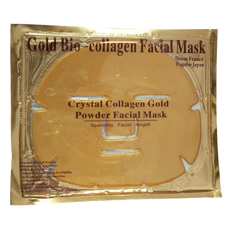 Gold Collagen Mask china gold moisturizing and whitening collagen mask china mask