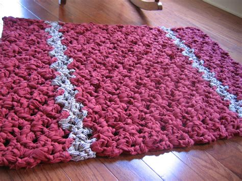 crochet a rag rug rag rug crochet patterns best decor things