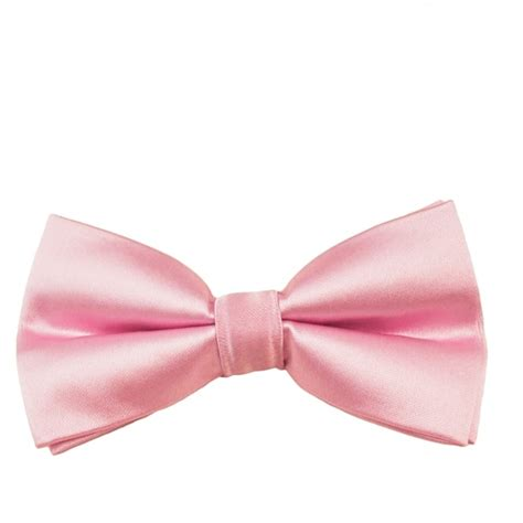 Plain Bow Tie plain baby pink boys bow tie from ties planet uk