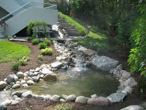 Backyard stream in west bloomfield michigan wow