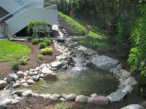 backyard stream residential streams in michigan