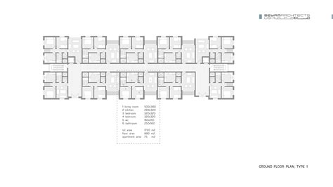 type l floor plan 1000 residential units hkz mena design magazine