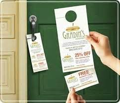 avery free templates door hanger with tear away cards avery 174 door hanger with tear away cards get your business