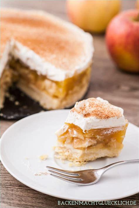 kuchen mit apfelmus und pudding torte mit apfelmus und pudding appetitlich foto f 252 r sie