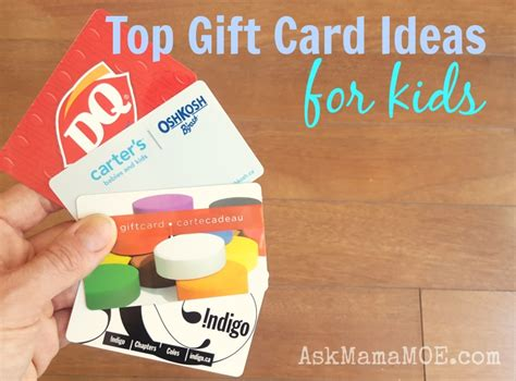 Gift Cards For Children - top birthday gift cards for kids ask mama moe