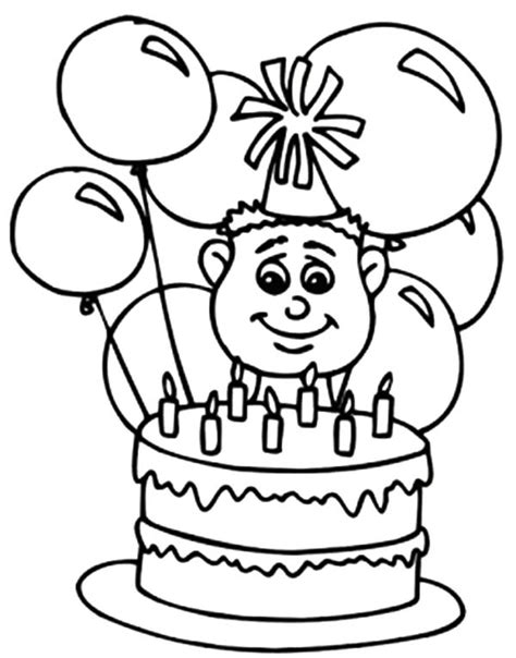 birthday coloring page for boy find the best coloring pages resources here part 60
