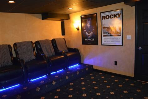 theater rooms in basement basement home theater room ideas boston ma south